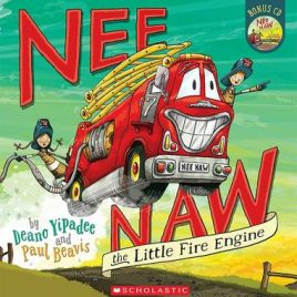 Nee Naw The Little Fire Engine Book with CD (Paper Back)