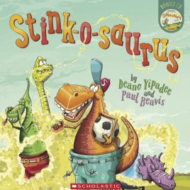 Stink-o-saurus Book with CD (Paper Back)