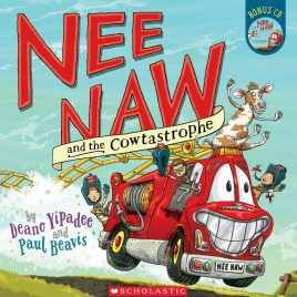 Nee Naw And The Cow-Tastrophy Book And CD (Paper Back)