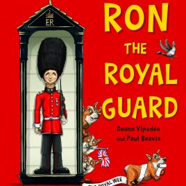 Ron The Royal Guard (Hard Back Book) with MP3
