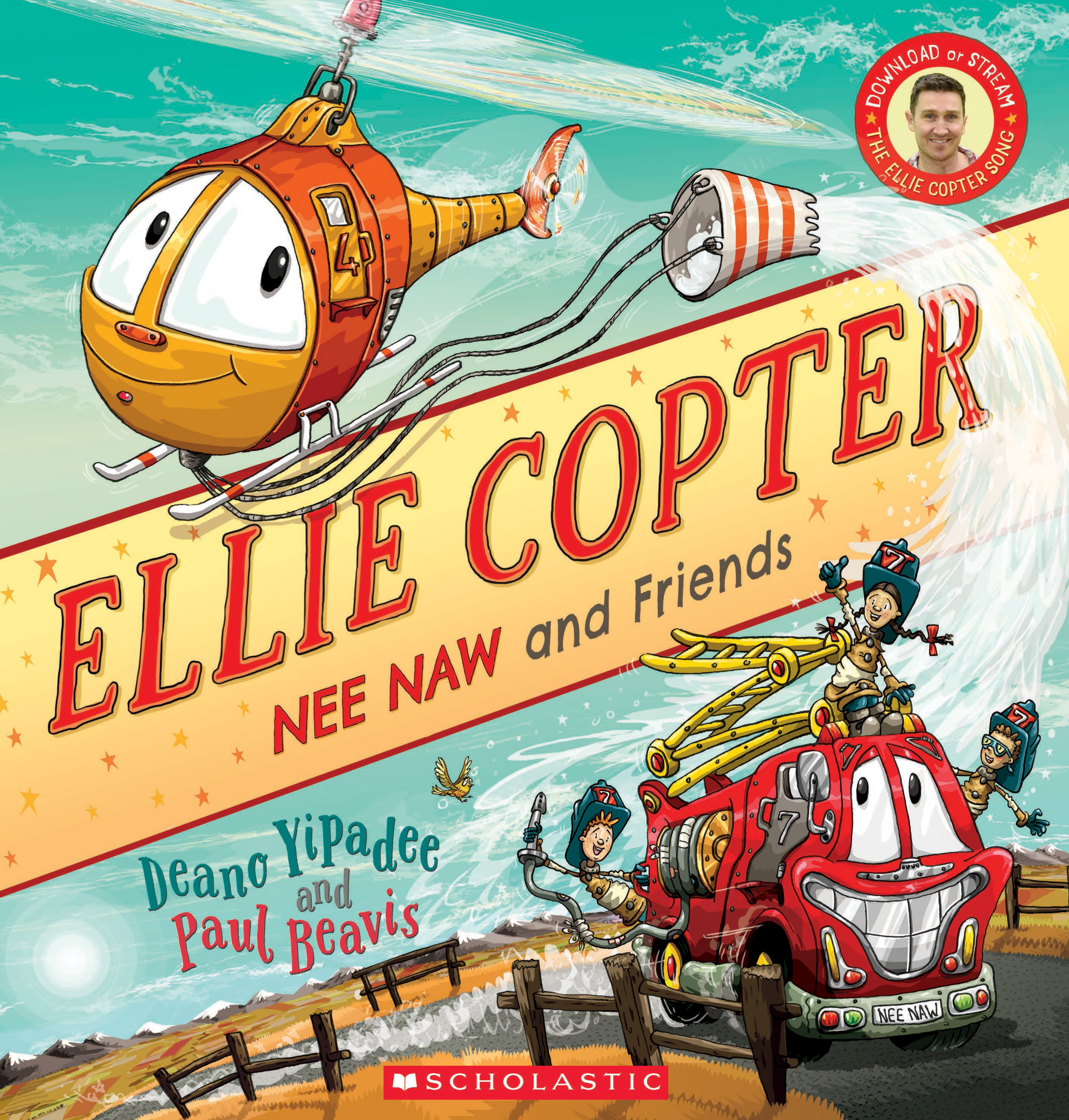 Ellie Copter – Nee Naw And Friends (Paperback)